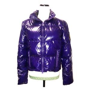 Winter perfect purple down Puffer coat by Lauren.